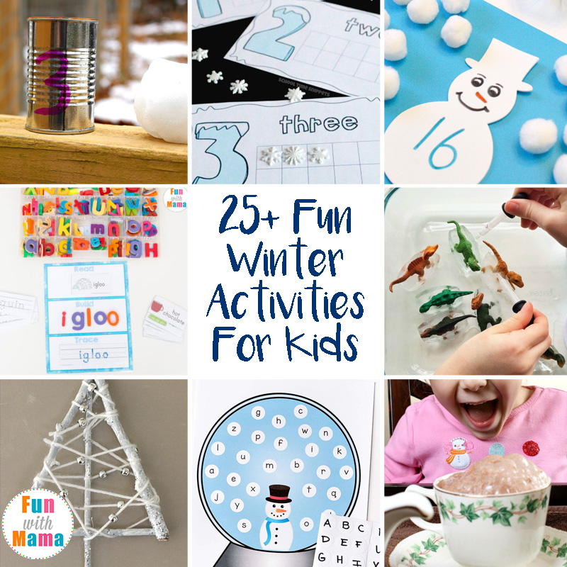 25+ Super Fun Winter Activities For Kids