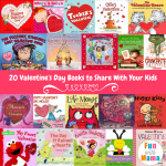 20+ Valentine's Day Books For Preschoolers Toddlers & Elementary Students