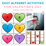 Easy Valentine Letter Activities For Valentine's Day