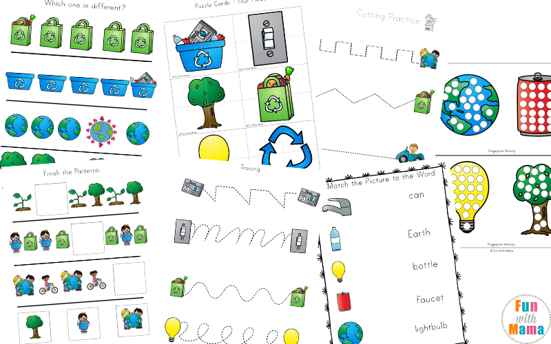 Earth Day Activities For Kids Including Printables And ...
