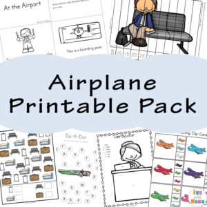 Airplane Printable Pack a 300x300