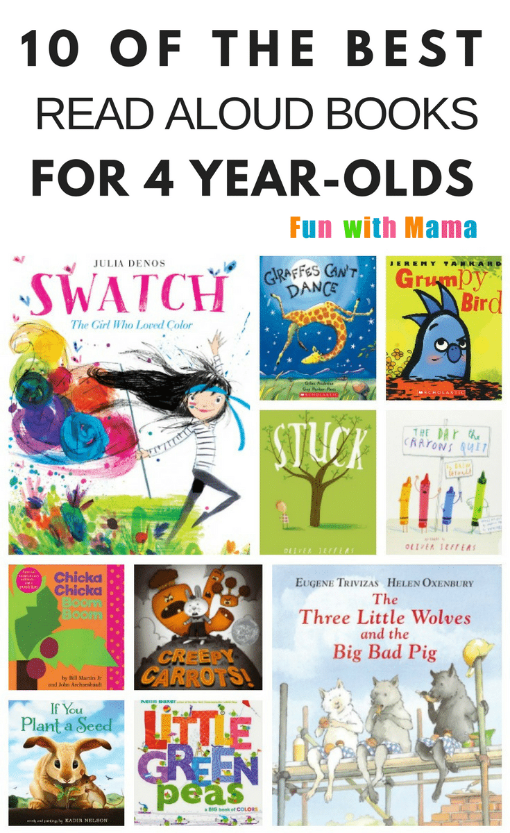 Reading lists|kids|Awesome| Best Books For Four-Year-Olds