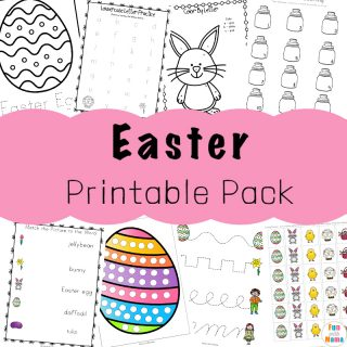easter preschool printables
