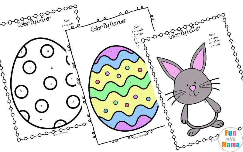 picture regarding Printable Easter Activities referred to as Easter Pursuits For Babies and Preschool Printables