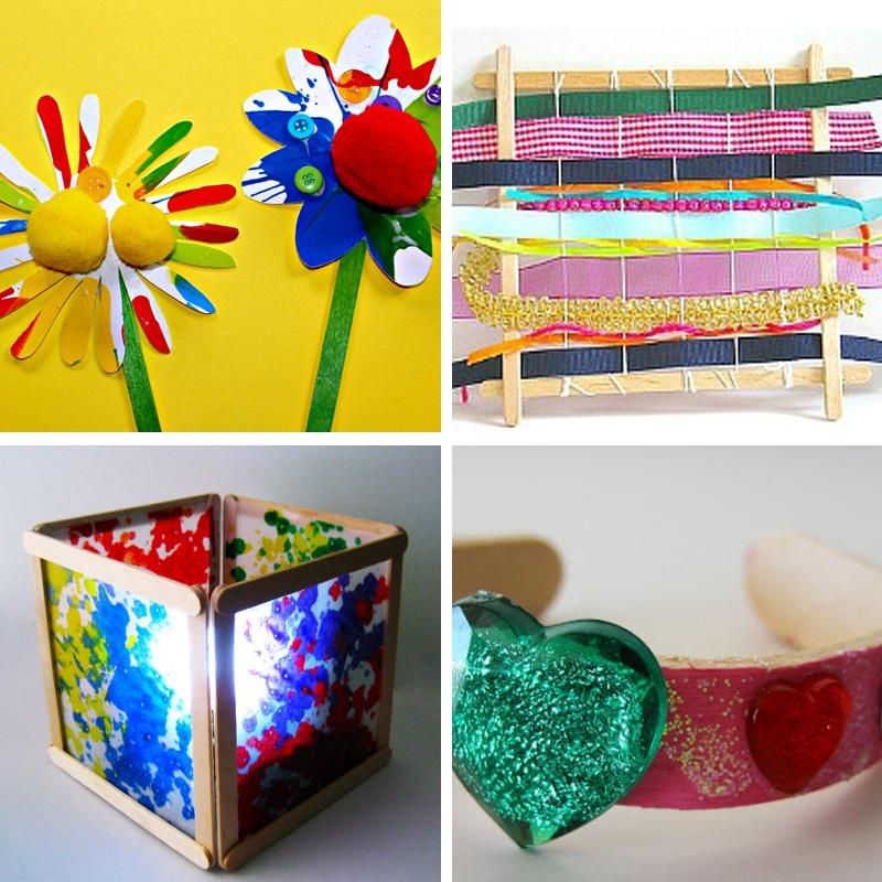 Ice Cream Stick Craft Ideas For Kids
