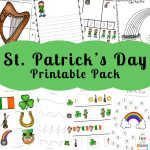 St. Patrick's Day Coloring Pages and Activities