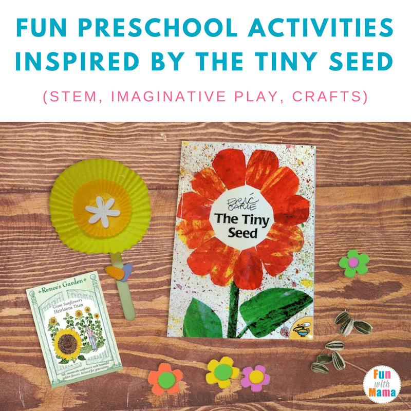 Preschool|Eric Carle|Fun| The Tiny Seed