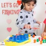 Let's Go Fishing Game Kids Toy Review