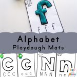 Alphabet Playdough Mats