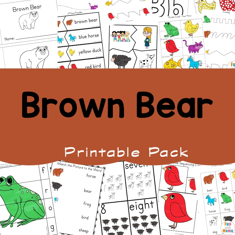 image relating to Brown Bear Brown Bear Printable Book named Brown Endure, Brown Endure: Coloration Level of popularity With Your