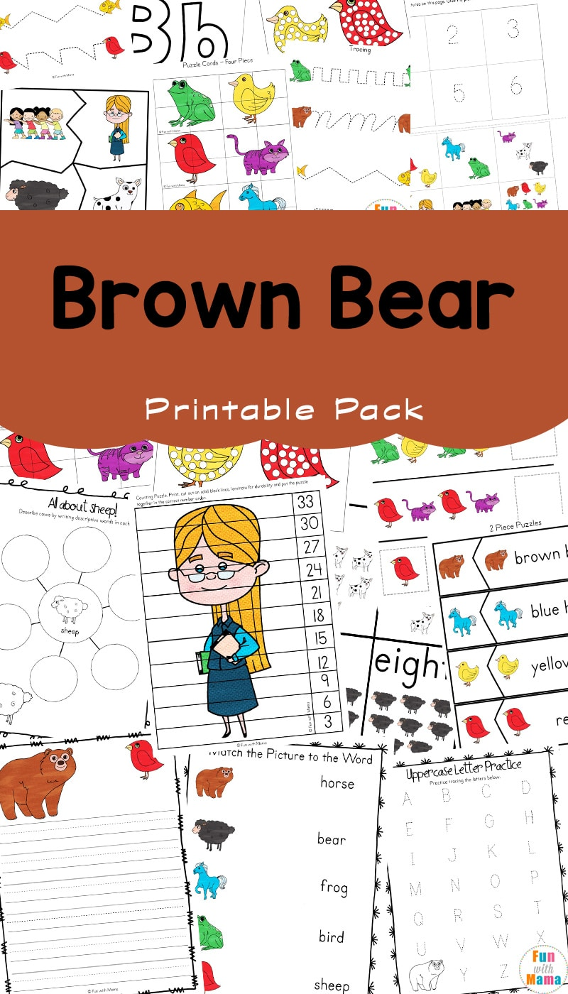 graphic relating to Brown Bear Brown Bear What Do You See Printable Book known as Brown Undertake Brown Undertake What Do Yourself View? Printable Tale