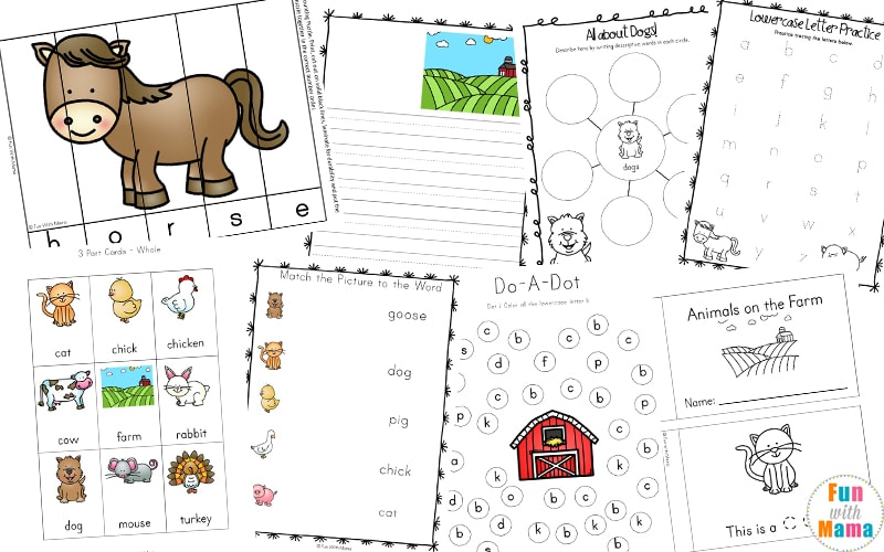 farm theme preschool
