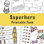 Superhero Games, Coloring Pages + Printables