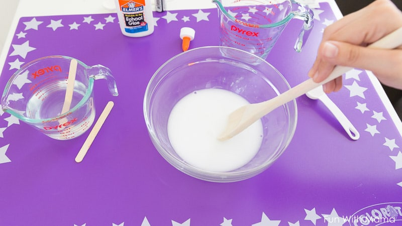 how to make slime with elmers glue