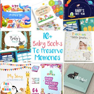 A baby's first year is full of first, special moments, and obviously growing. It is absolutely overwhelming to think of trying to remember all of these. That's where baby books come into play and help you remember all the special moments for years to come. These are my favorites.