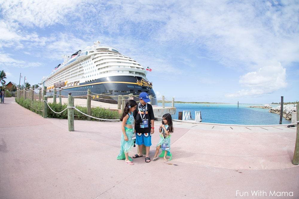 Disney cruise castaway cay