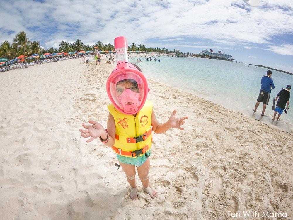 castaway cay snorkeling