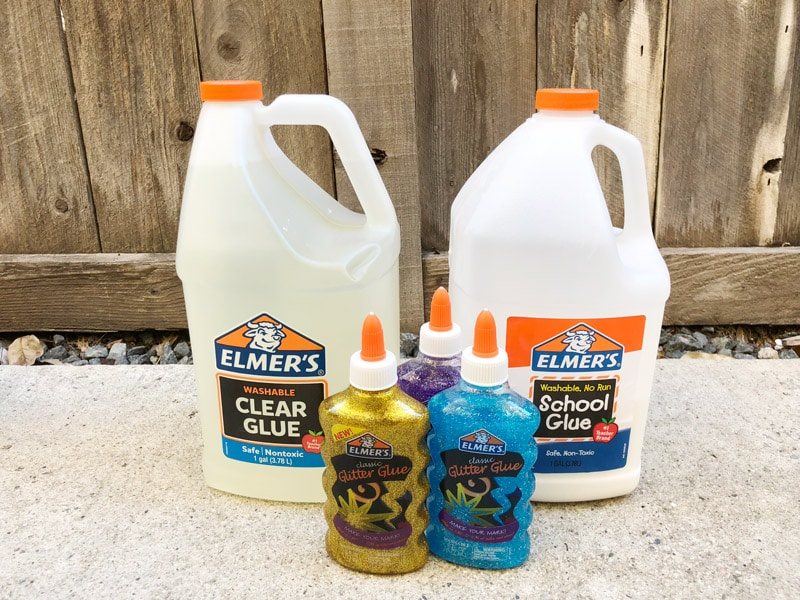 Elmer's glue slime