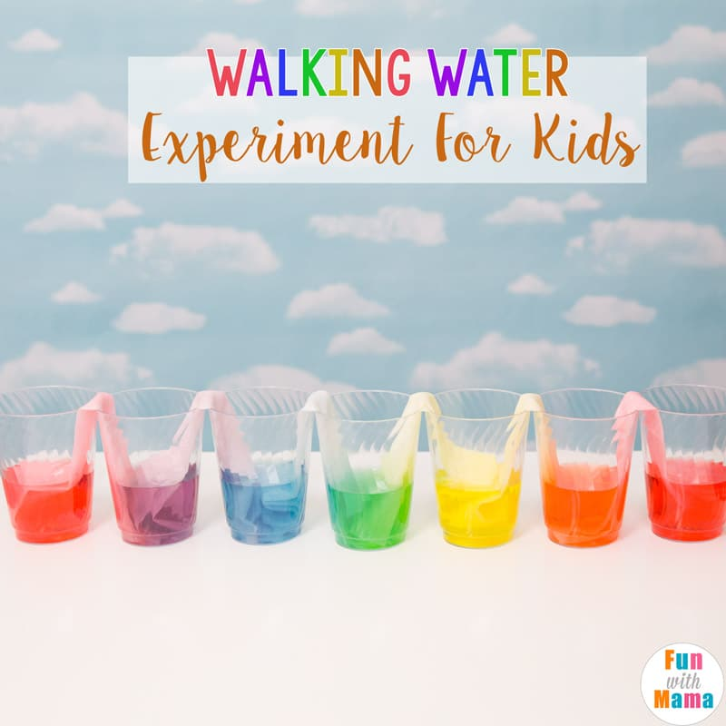 walking water experiment