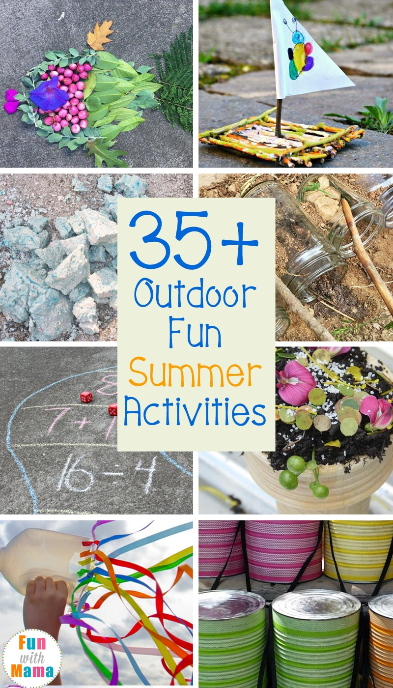 outdoor activities for summer
