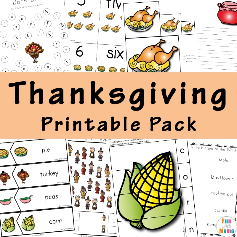 photo relating to Printable Thanksgiving Activities named A Thanksgiving Printable Pack For Finding out Heritage Additional!