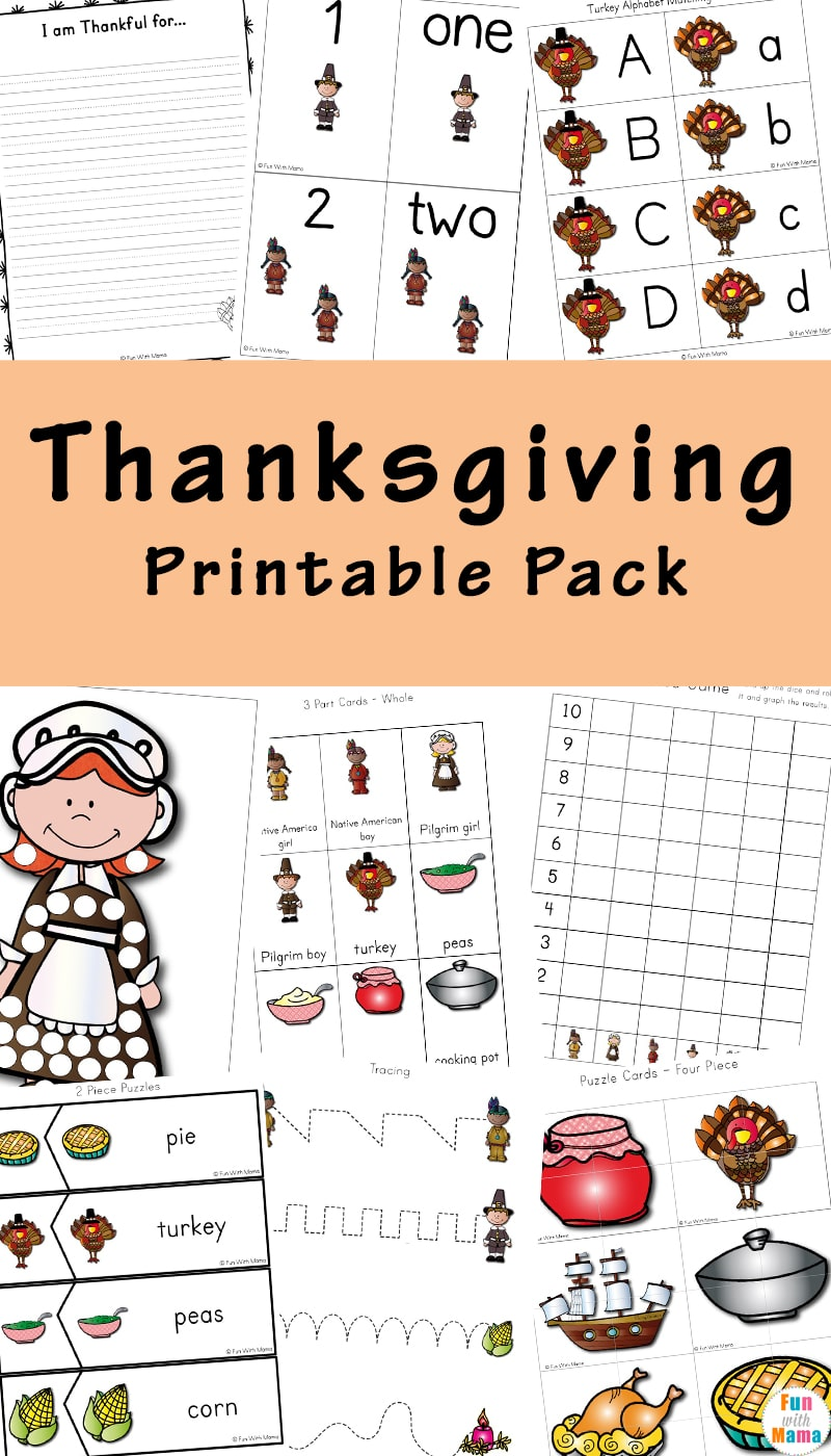 image regarding Printable Thanksgiving Activities named A Thanksgiving Printable Pack For Understanding Heritage Added!