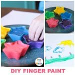 Homemade Paint For Finger Painting