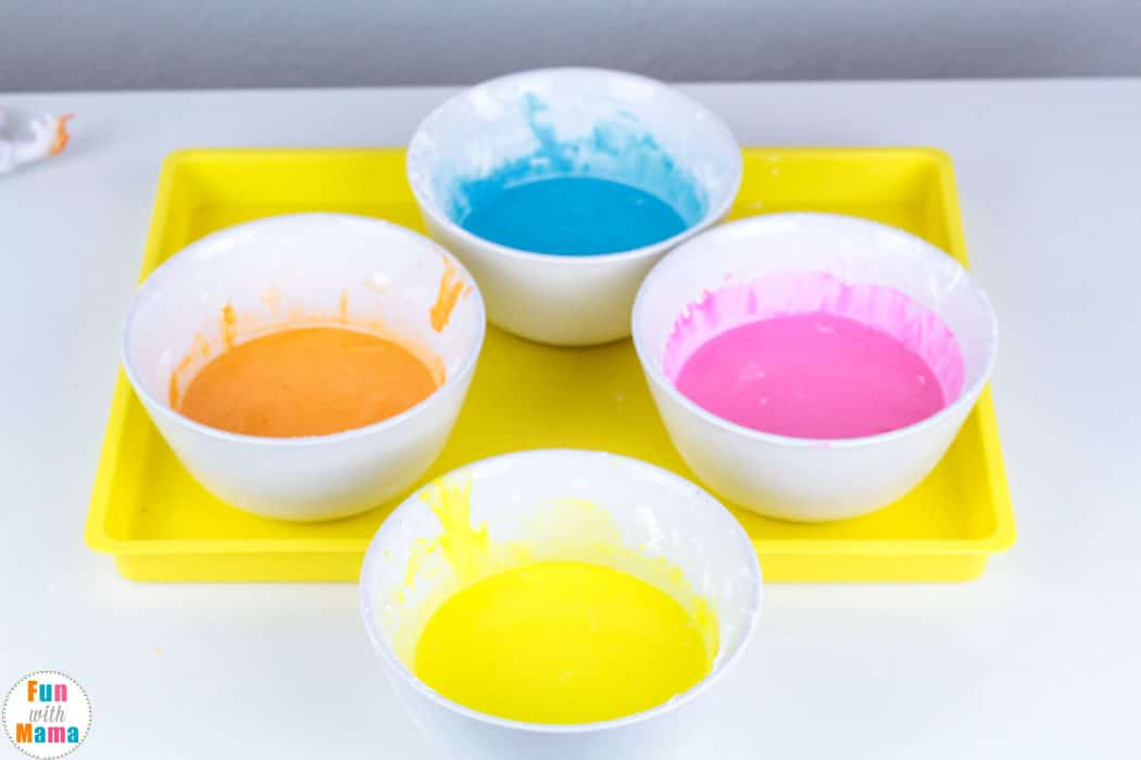 paint for Non Newtonian Fluid Oobleck Recipe