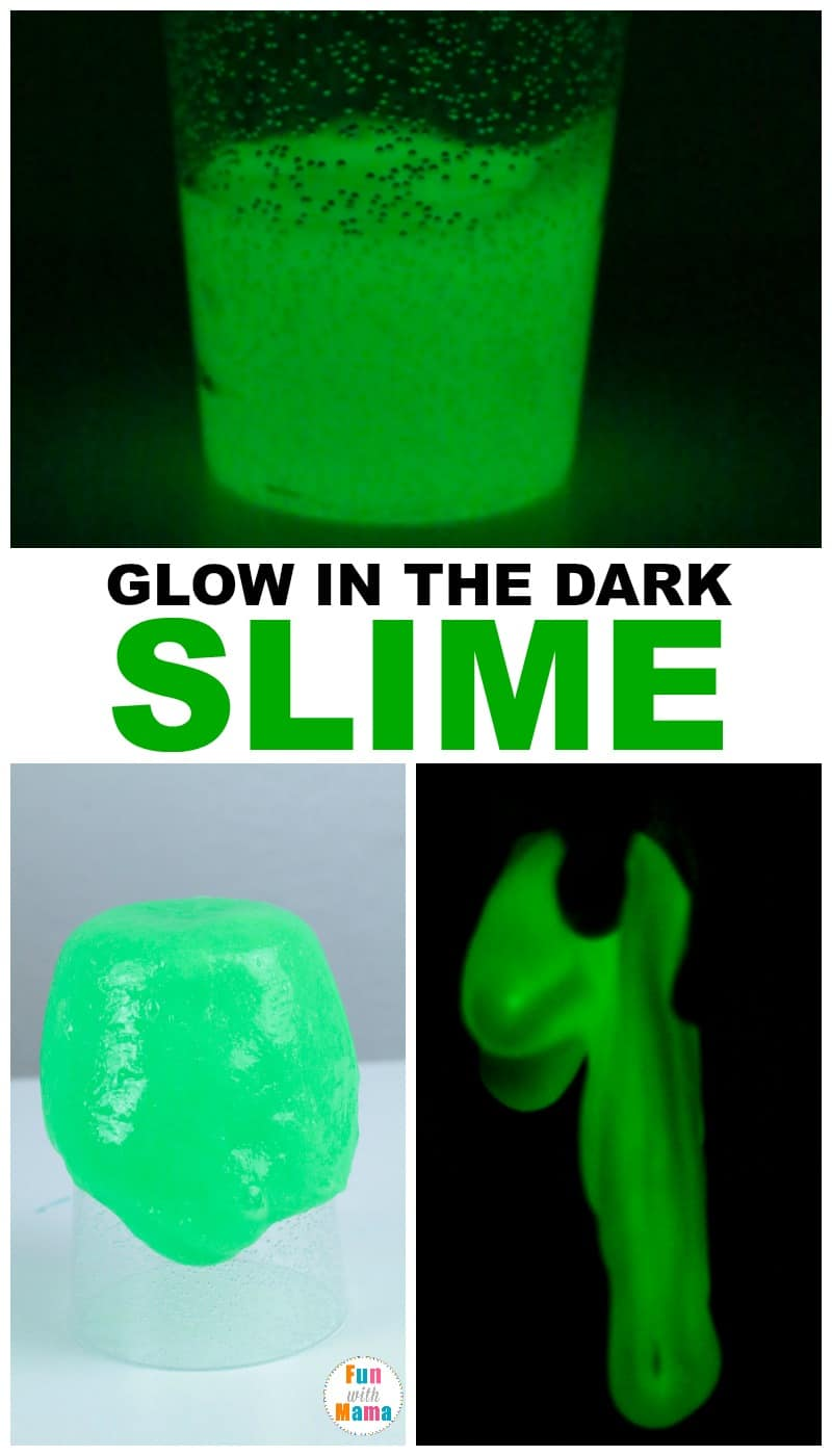 How to make glow in the dark slime recipe