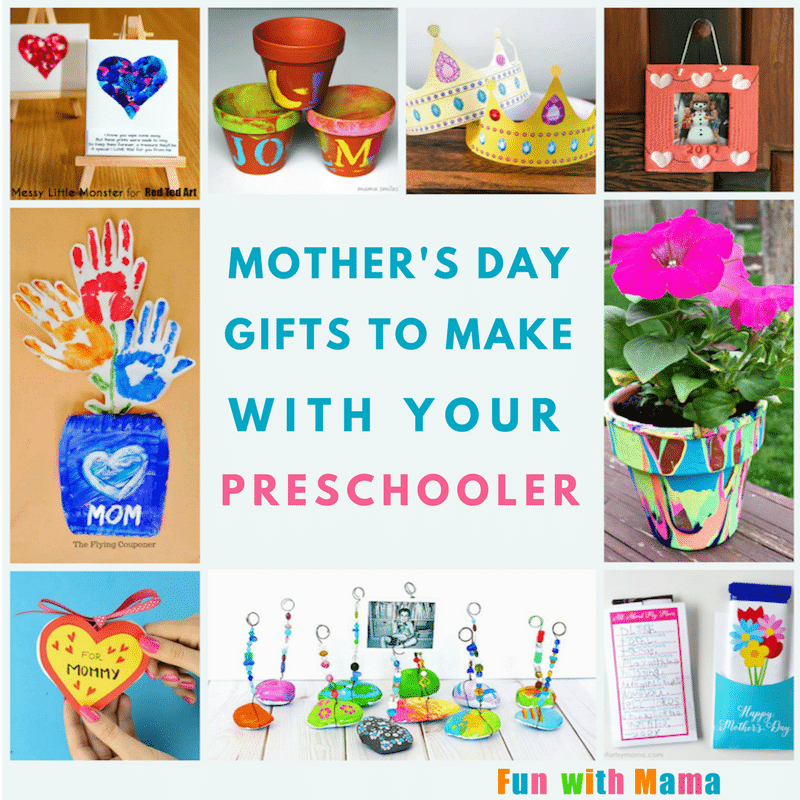 Best Mother S Day Crafts For Preschoolers Fun With Mama