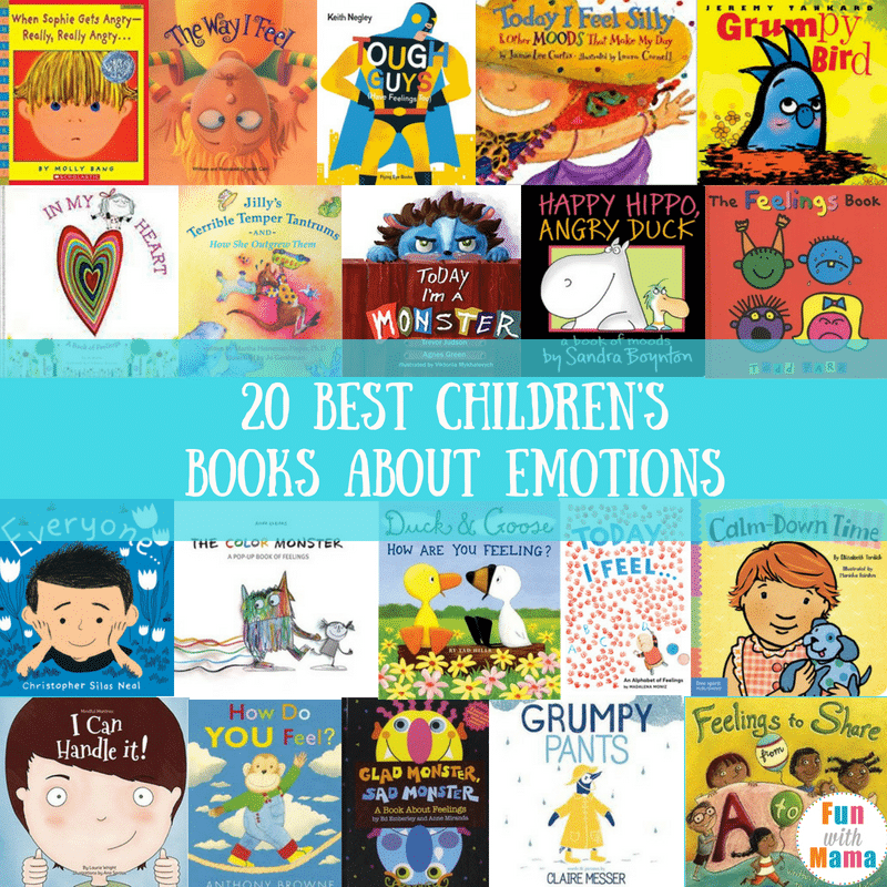 books about feelings for kids