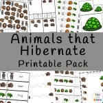 Animals that Hibernate Printable Pack