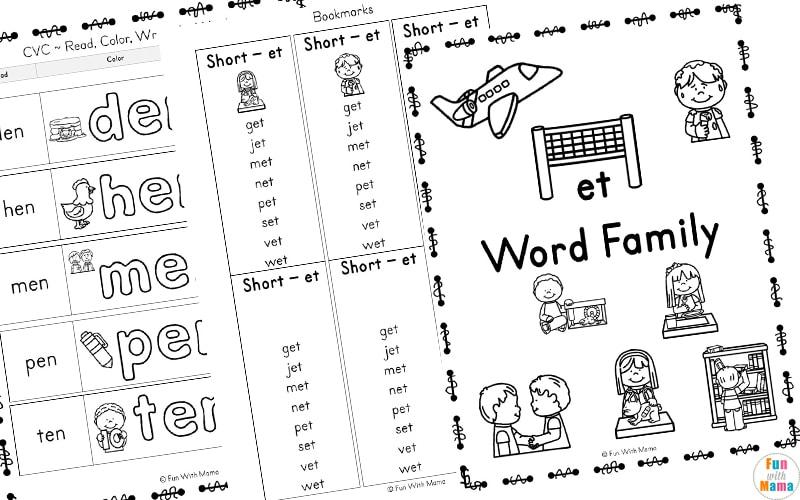 short e words