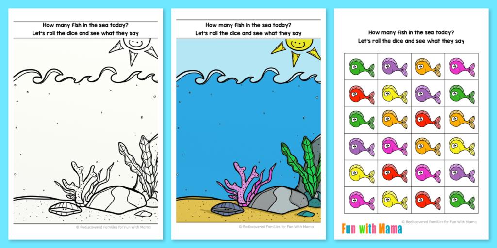 Ideas-printables-preschool-learning–fun - Fish Eyes