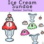 Ice Cream Sundae Number Matching