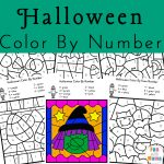 Halloween Color By Number