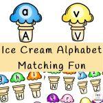 Ice Cream Alphabet Matching Fun