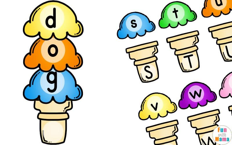 image relating to Alphabet Matching Game Printable named Ice Product Alphabet Matching Entertaining - Enjoyable with Mama