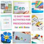 12 Hands On Name Activities For Preschooolers