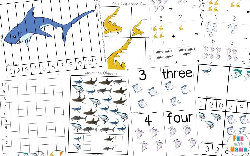 shark week printables