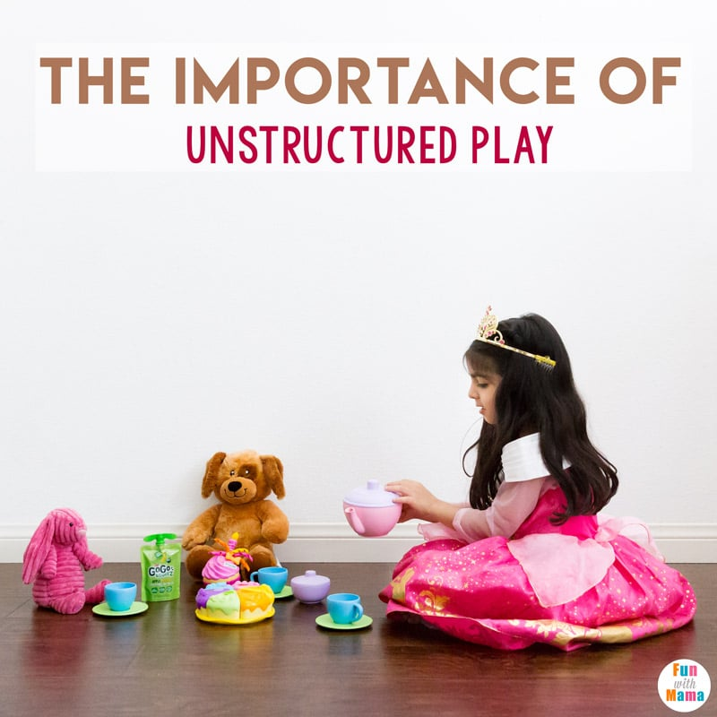 importance of unstructured play