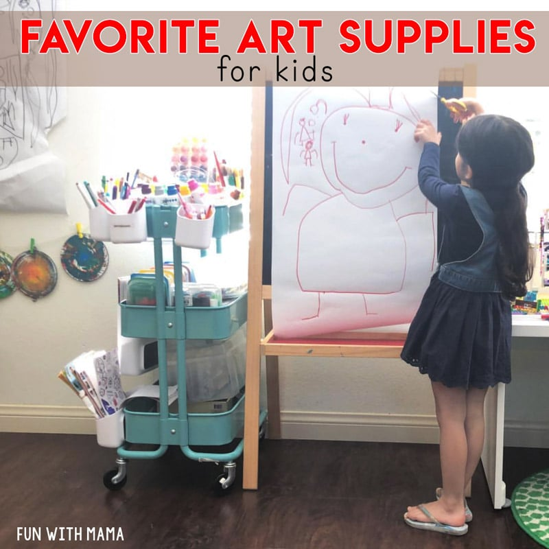 Favorite Art Supplies For Kids Fun With Mama