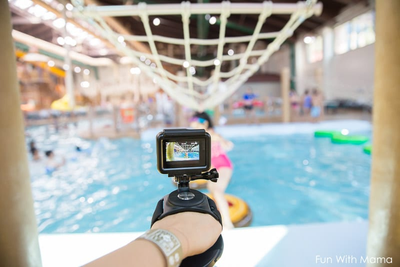 GOPro for family vacation