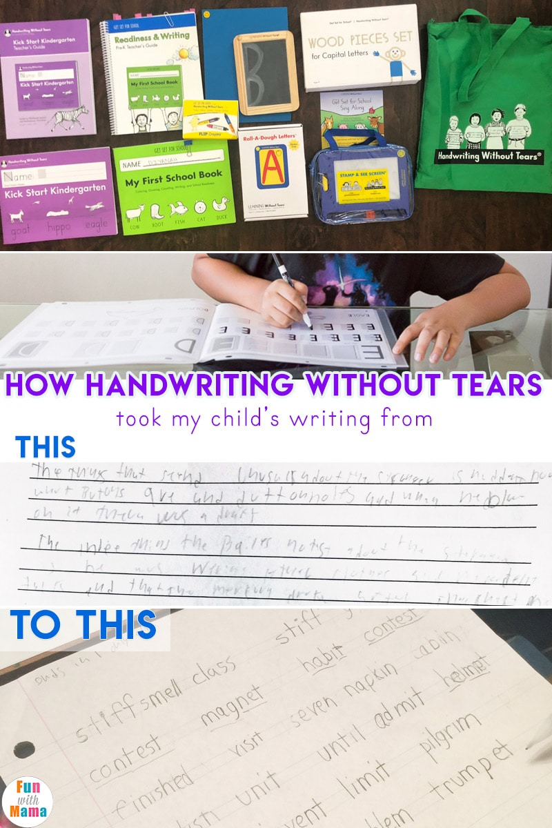 graphic relating to Handwriting Without Tears Printable Paper named Handwriting Without the need of Tears Overview + Workshop! - Pleasurable with Mama