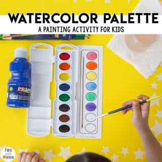 watercolor painting for kids