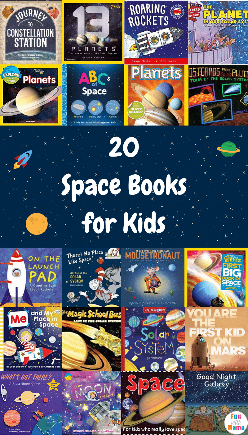 20 Space Books for Kids
