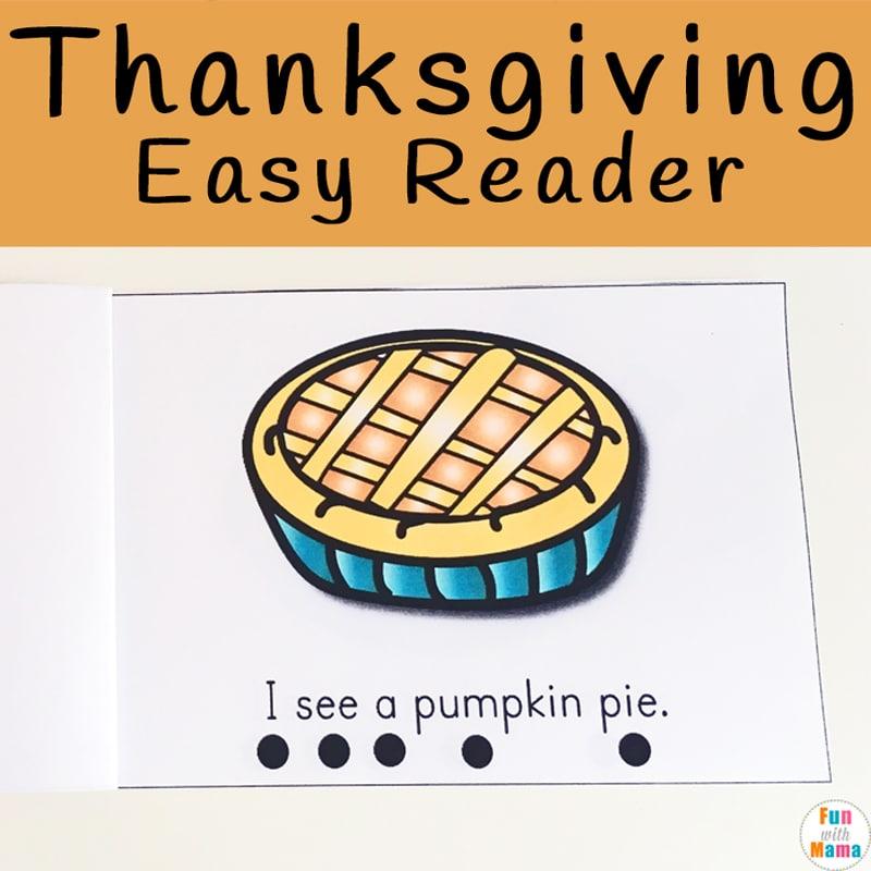 Thanksgiving Easy Reader