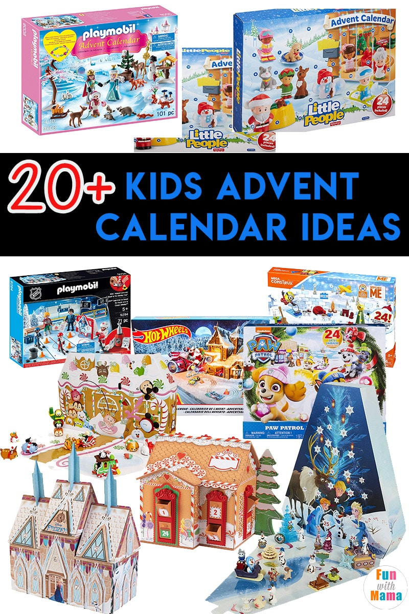 kids advent calendar 2018