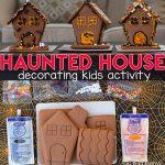 Halloween Gingerbread Haunted Houses