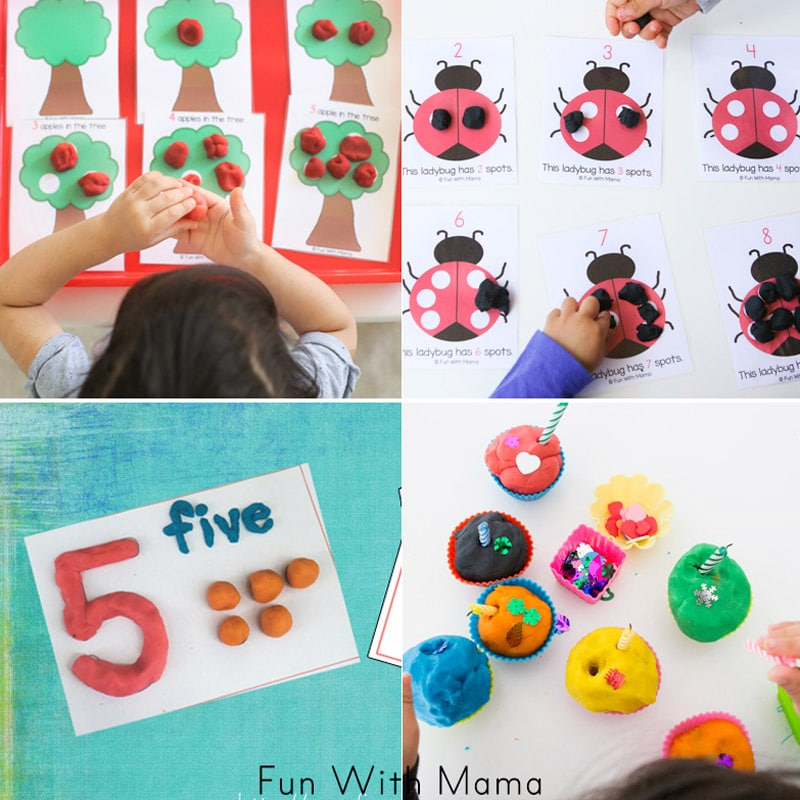 play dough activities for kids